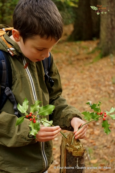 boy-holly-red-berries-autumn-Wicklow