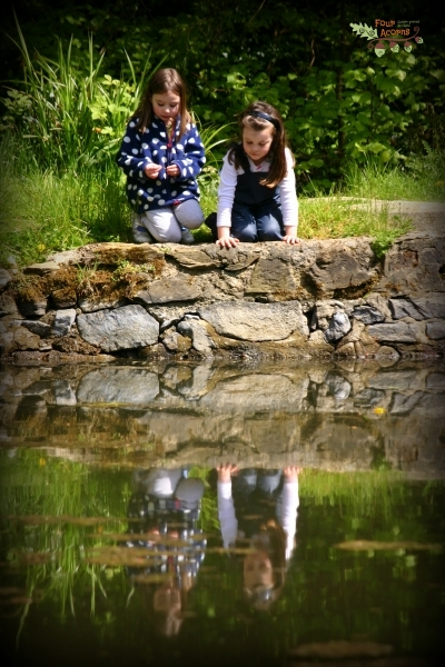 Kilmacurragh-botanic-gardens-pond-children