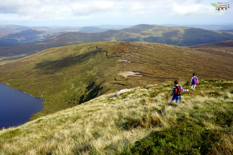 children-hiking-tonelagee-wicklow-mountains-ireland
