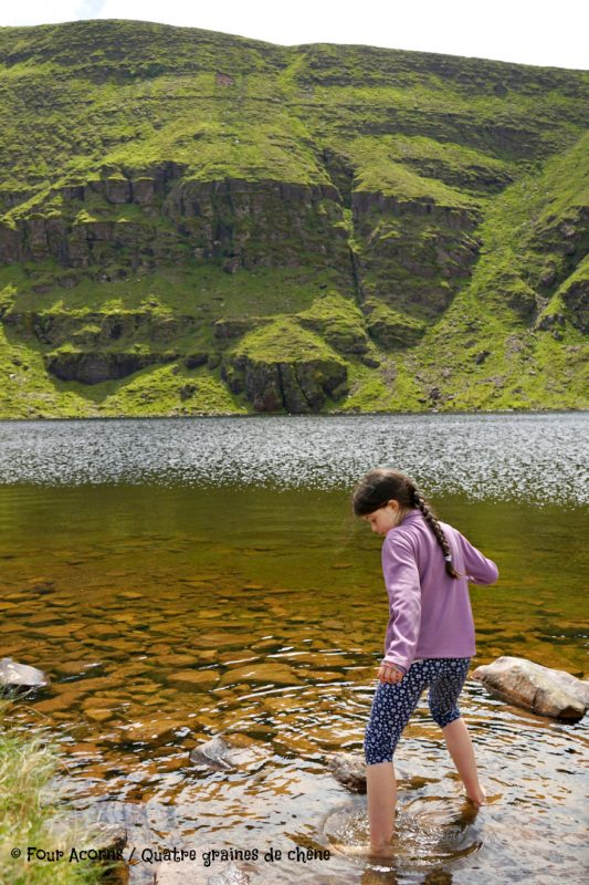 Glen of Aherlow, Tipperary, Ireland, Irlande, Galtee, Lough Curra, hiking, family, adventure, great outdoors, mountains, montagnes, plein air, randonnee, famille, lake, lac, corrie, lac glaciaire
