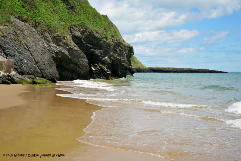 Silverstrand, beach, Wicklow, Ireland, Irish Sea, mer d'Irlande, Irlande, plage