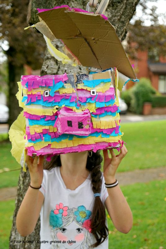birthday-party-pig-piñata-anniversaire