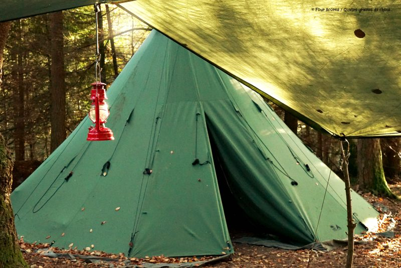 tipi-adventures-green-canvas-red-lantern-tarp