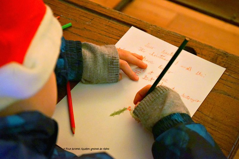letter-to-Santa-child-hands-holly-drawing