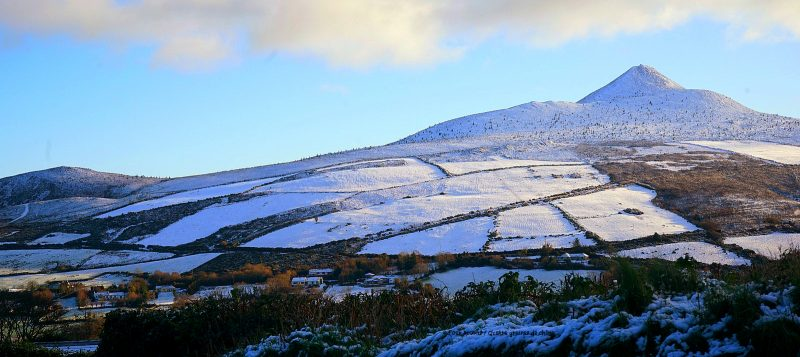 great-sugarloaf-wicklow-snow-winter-sunshine