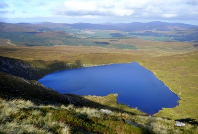 heart shaped lake, Wicklow, Ireland, Irlande, Tonelagee, Wicklow Mountains