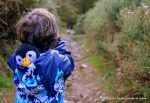 woodland, walk, children, nature