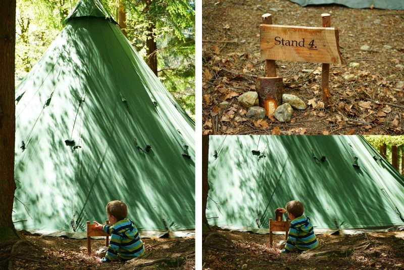 Family wild camping weekend with Tipi Adventures Ireland