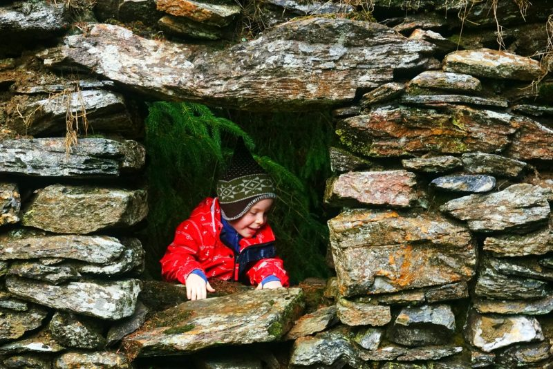 old-stone-house-window-frame-child-deserted-village-wicklow-ireland