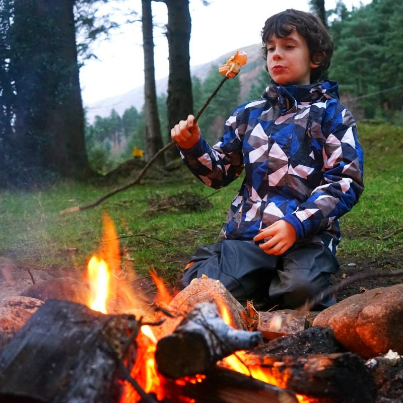 toasted-marshmallow-campfire-boy-winter