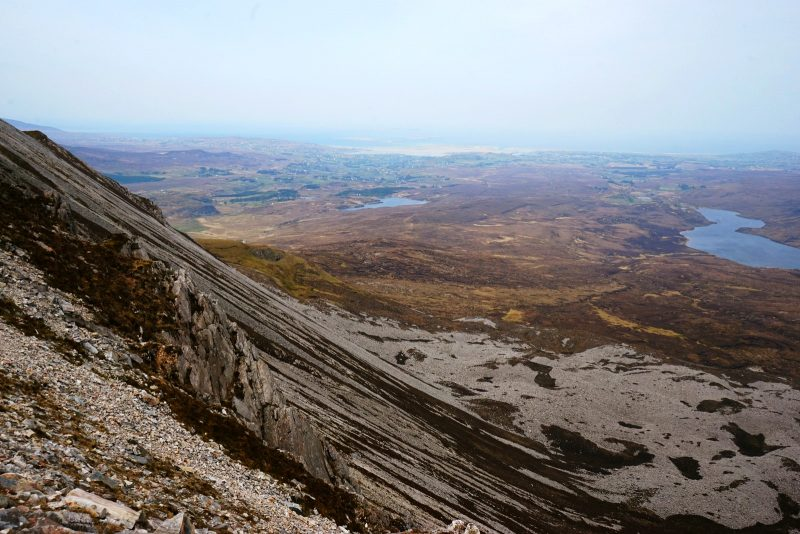 scree-slope-altan-lough-sea-views-donegal