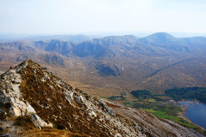 summit-dunlewy-lough-poisoned-glen-donegal-ireland