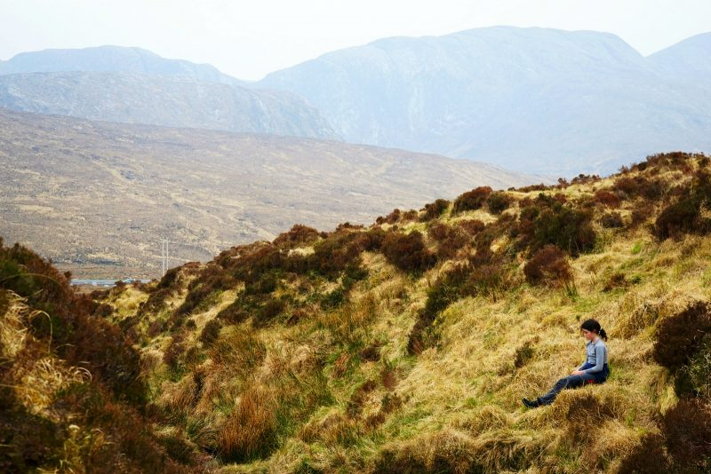 mountain-bog-girl-derryveagh-mountains