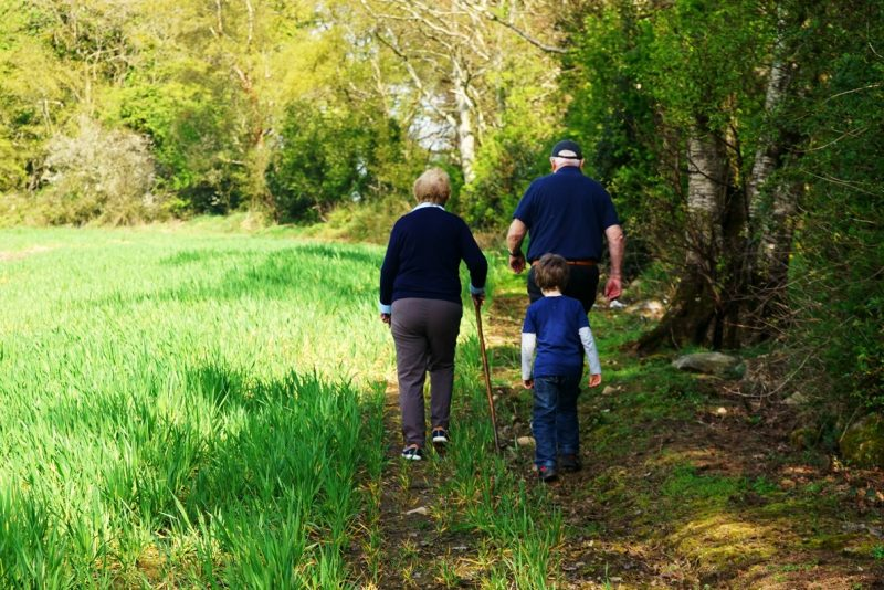 boy-grand-parents-urney-fort-tyrone-northern-ireland-bluebells