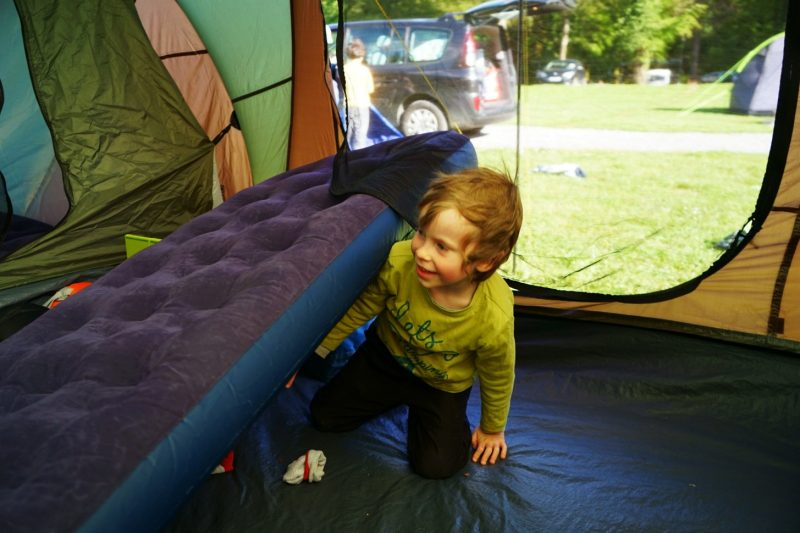 inside-tent-sleeping-airbed-child