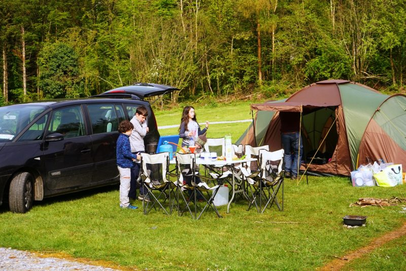 family-camping-tent-car-table-chairs