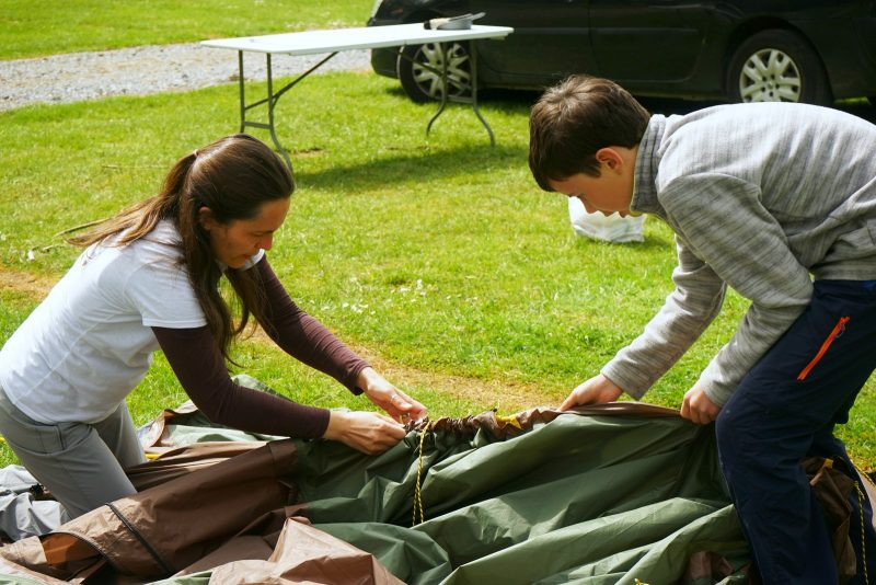 mum-son-packing-tent-family-camping