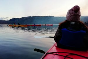 Starlight kayaking on Lough Hyne