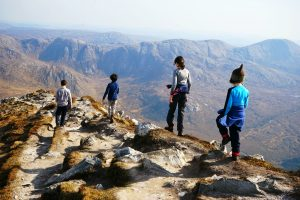 Errigal - Family trek to the top of Donegal / Randonnée au sommet de Donegal