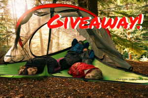 Win 2 nights camping in a tree tent with Tipi Adventures!